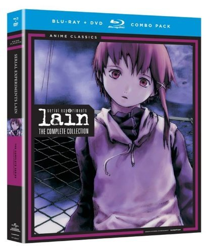 Serial Experiments Lain Complete Series Blu Ray DVD Tv14 Ws