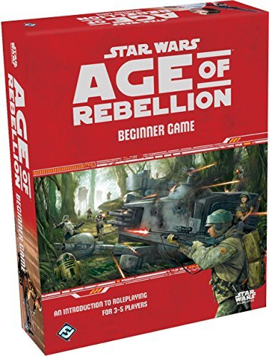 Star Wars Age Of Rebellion Rpg Beginner Game