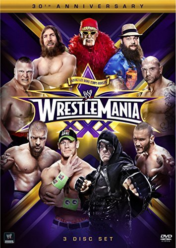Wwe Wrestlemania 30 DVD Nr