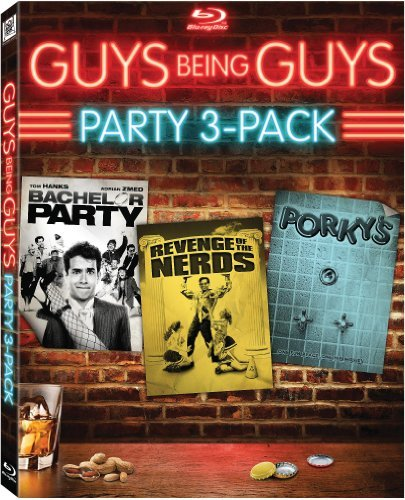 Guys Being Guys Party Pack Bachelor Party Porky's Revenge Of The Nerds Blu Ray