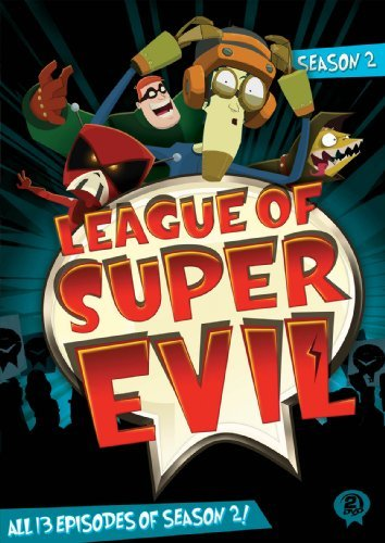 League Of Super Evil Season 2 DVD Tvy7
