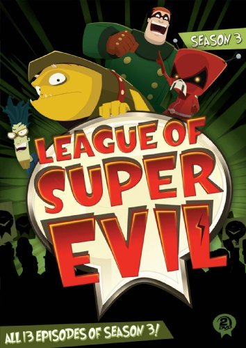 League Of Super Evil Season 3 DVD Tvy7 Ws