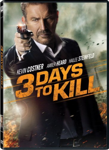3 Days To Kill Costner Steinfeld DVD Pg13