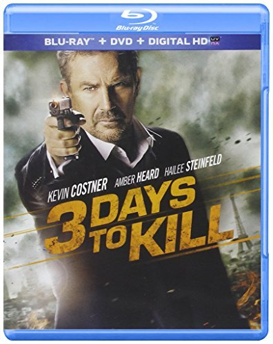 3 Days To Kill Costner Steinfeld Blu Ray Pg13