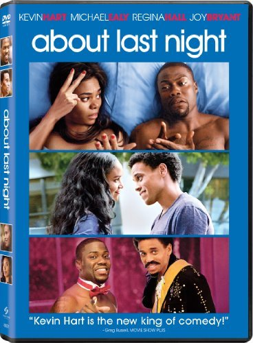 About Last Night Hart Ealy Hall Bryant DVD R