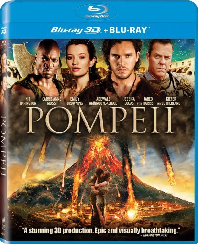 Pompeii Harrington Browning Sutherland 3d Blu Ray Pg13