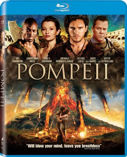 Pompeii Harrington Browning Sutherland Blu Ray Pg13
