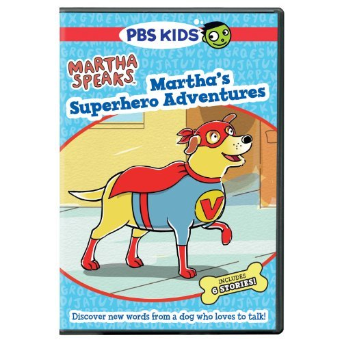 Martha Speaks Martha's Superhero Adventures DVD Nr