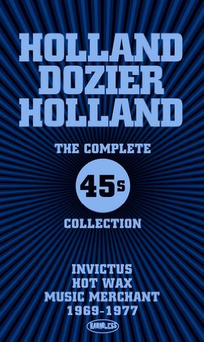 Holland Dozier Holland Complete 45s Collection Invic Import Gbr