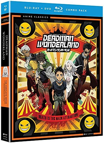 Deadman Wonderland Complete Series Blu Ray