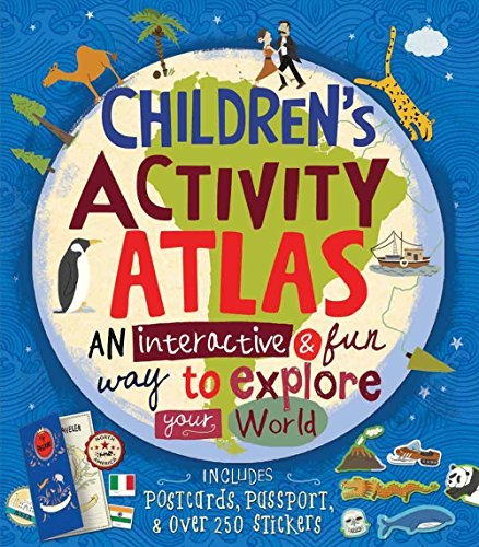 Jenny Slater Children's Activity Atlas [with Sticker(s)]