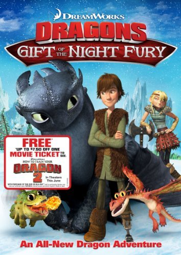 Dragons Gift Of The Night Fury Dragons Gift Of The Night Fury DVD