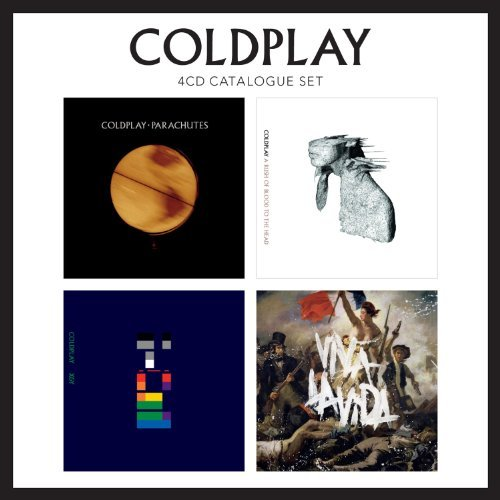 Coldplay 4 CD Catalogue Set