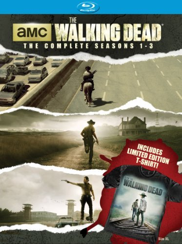 Walking Dead Seasons 1 3 Blu Ray Limited Edition
