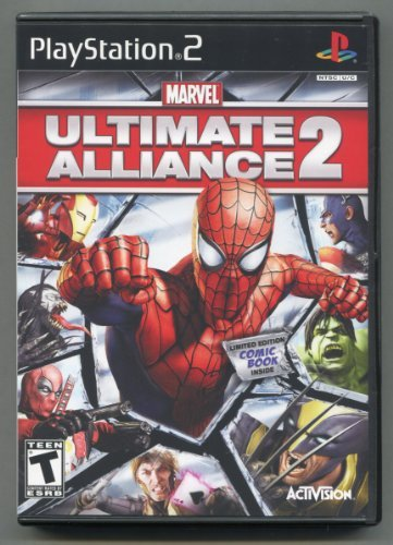 Marvel Ultimate Alliance 2 ** Play Station 2 ** In
