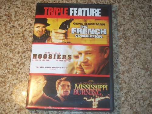 French Connection Hoosiers Mississippi Burning Gene Hackman Triple Feature