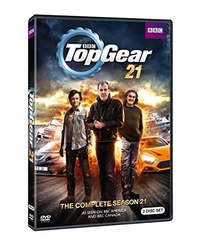 Top Gear Uk Season 21 DVD