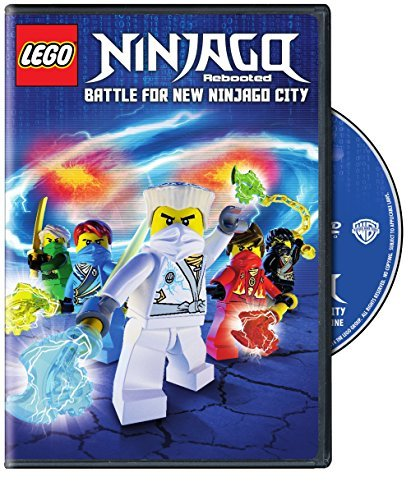 Lego Ninjago Rebooted Battle For New Ninjago DVD