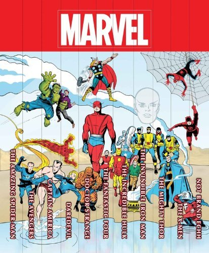 Stan Lee Marvel Famous Firsts 75th Anniversary Masterworks Slipcase Set