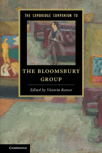 Victoria Rosner The Cambridge Companion To The Bloomsbury Group