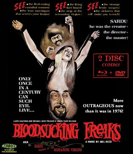 Bloodsucking Freaks O'brien De Jesus Mcmaster Blu Ray DVD Nr