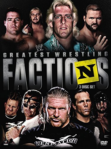 Wwe Presents Wrestling's Greatest Factions DVD Nr
