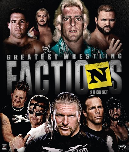 Wwe Wrestling's Greatest Factions Blu Ray Nr Ws