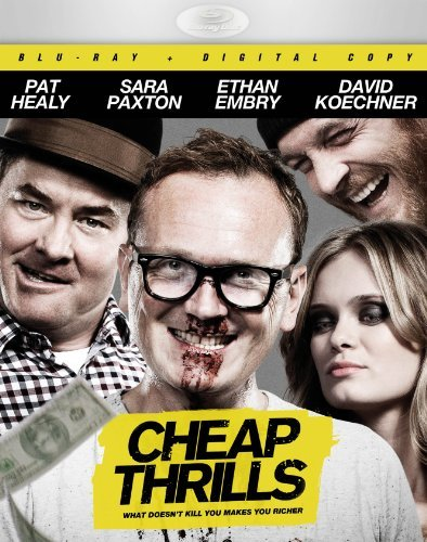 Cheap Thrills Healy Embry Paxton Blu Ray Nr