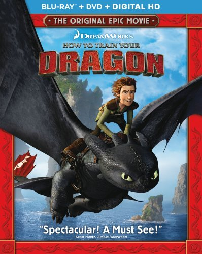 How To Train Your Dragon Butler Hill Baruchel Ferrera Blu Ray DVD Pg Ws