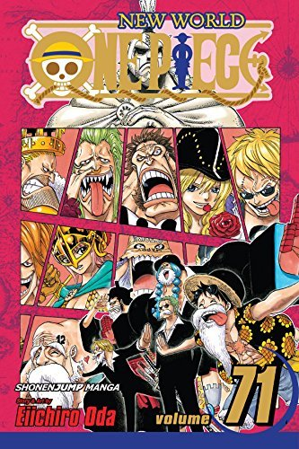 Eiichiro Oda One Piece Volume 71