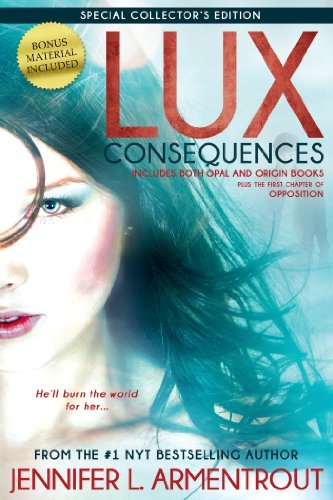 Jennifer L. Armentrout Lux Consequences (opal And Origin) Collector's
