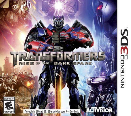Nintendo 3ds Transformers Rise Of The Dark Spark