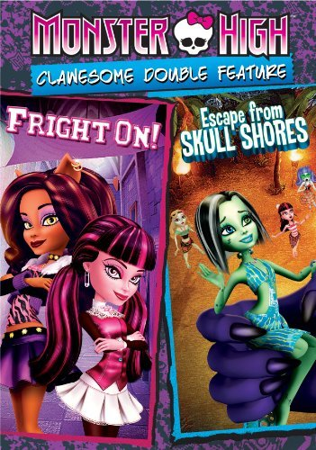 Monster High Clawesome Double Feature DVD Nr
