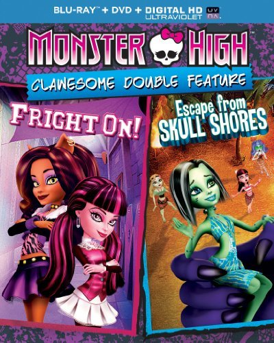 Monster High Clawesome Double Feature Blu Ray Nr
