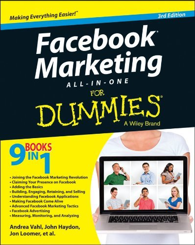 Andrea Vahl Facebook Marketing All In One For Dummies 0003 Edition;