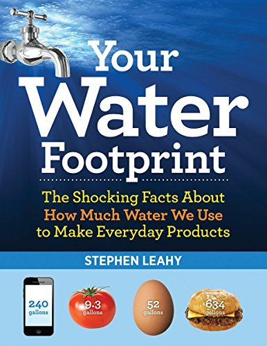 Stephen Leahy Your Water Footprint The Shocking Facts About How Much Water We Use To