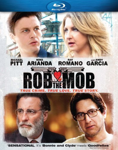 Rob The Mob Pitt Romano Garcia Blu Ray R