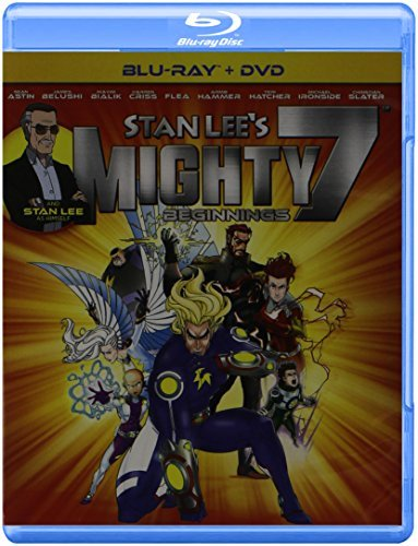 Stan Lee's Mighty 7 Beginning Stan Lee's Mighty 7 Beginning Blu Ray DVD Nr