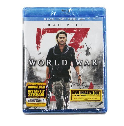 World War Z [blu Ray] Blu Ray