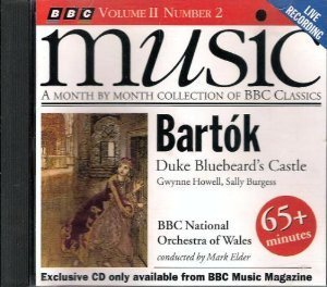 Bartok B. Duke Bluebeards Castle Bbc Music Vol Ii Number 2