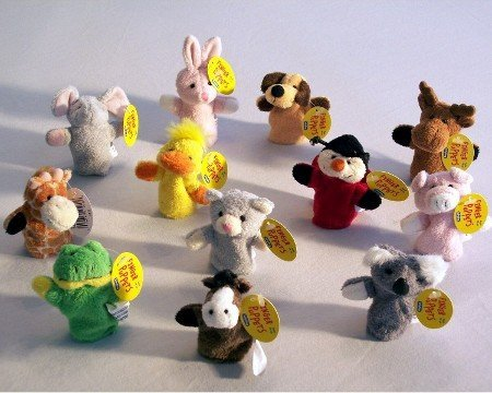 Toy Animal Finger Puppets