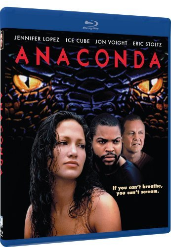 Anaconda Ice Cube Lopez Voight Stoltz Blu Ray Pg13