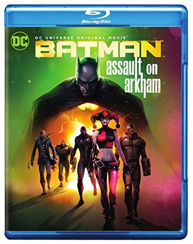 Batman Assault On Arkham Batman Assault On Arkham Blu Ray Pg13