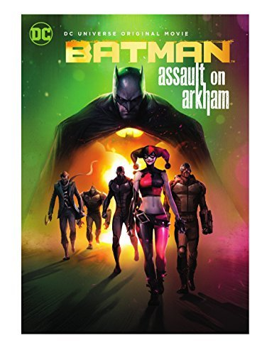 Batman Assault On Arkham Batman Assault On Arkham DVD Pg13
