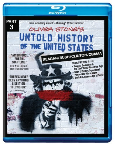 Untold History Of The United States Part 3 Reagan Bush Clinton Obama Blu Ray Nr