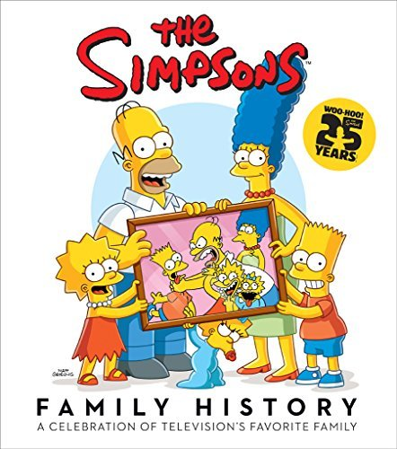 Matt Groening The Simpsons Family History A Celebration Of Television's Favorite Family