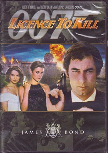 Albert R. Broccoli Timothy Dalton John Glen 007 Licence To Kill Dalton Timothy