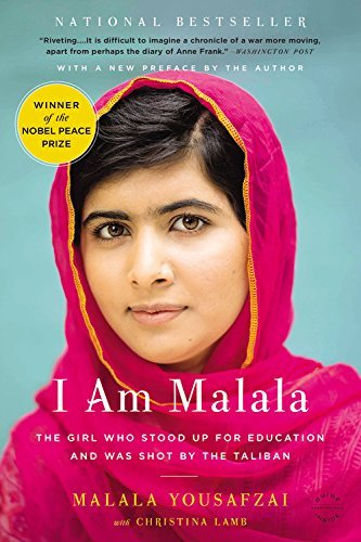 Malala Yousafzai I Am Malala The Girl Who Stood Up For Education And Was Shot By The Taliban