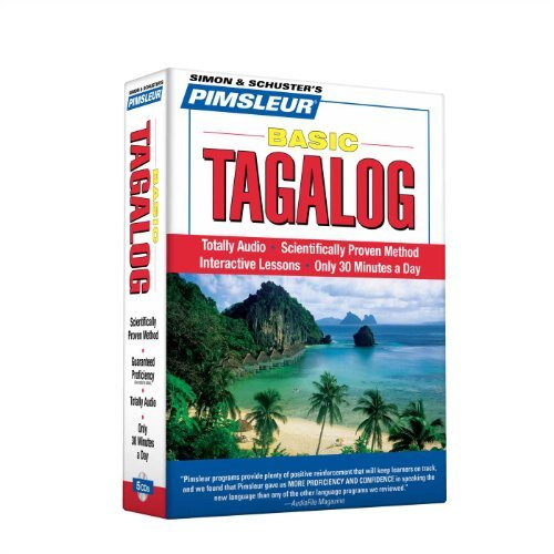 Pimsleur Pimsleur Tagalog Basic Course Level 1 Lessons 1 Learn To Speak And Understand Tagalog With Pimsle Lessons