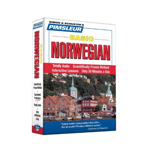 Pimsleur Pimsleur Norwegian Basic Course Level 1 Lessons Learn To Speak And Understand Norwegian With Pims Abridged